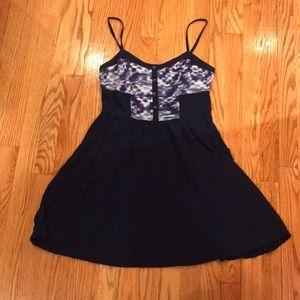 Navy Express dress 👗